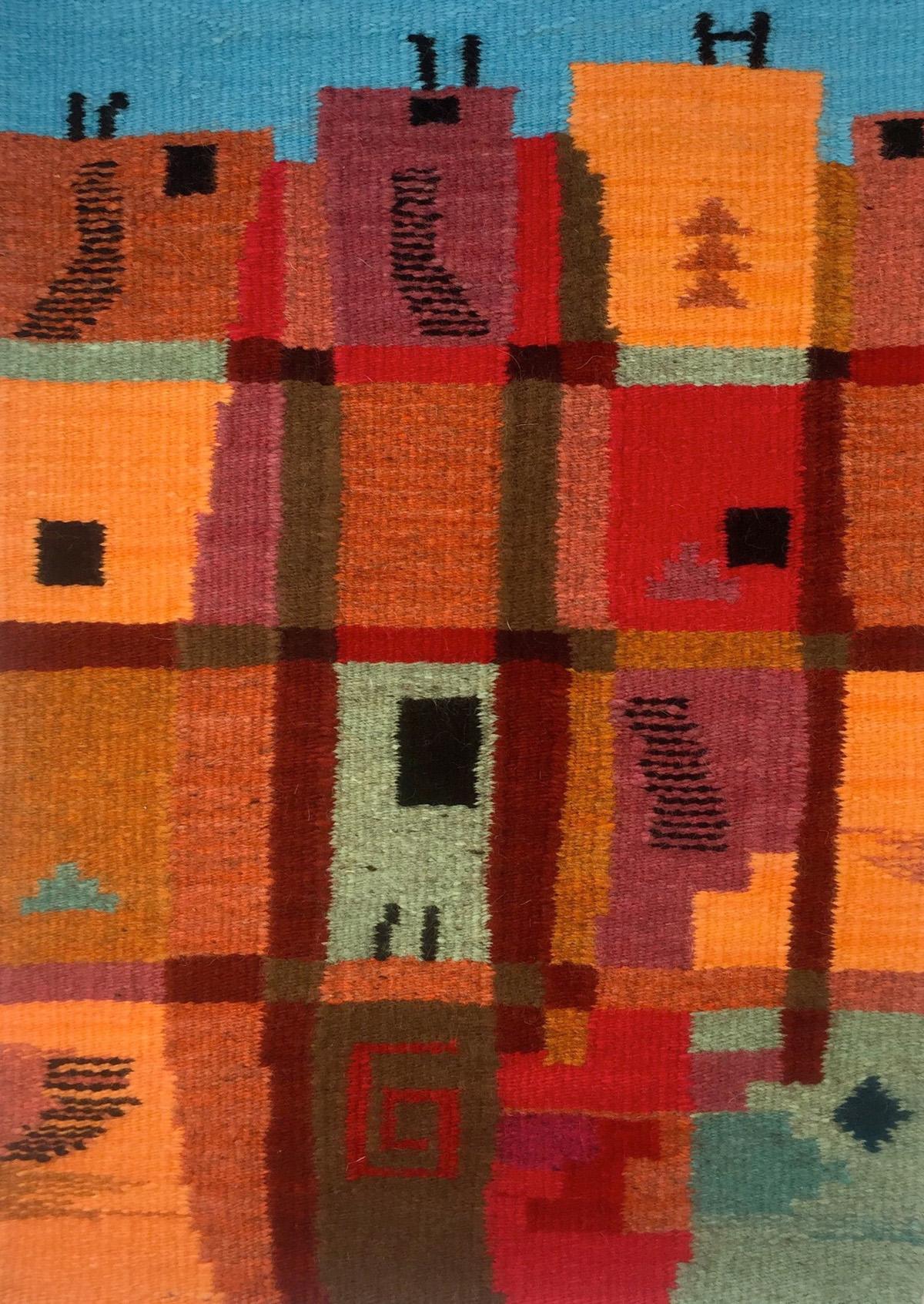 Pueblo, 24 in x 36 in
