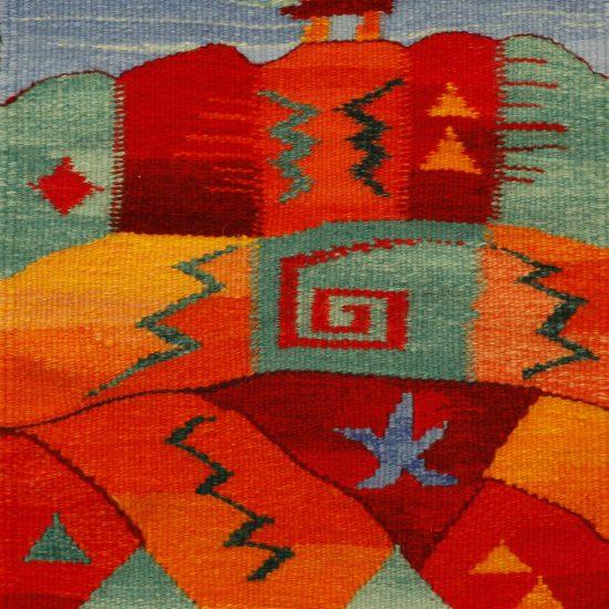 Stone Totem III, 12 in x 16 in