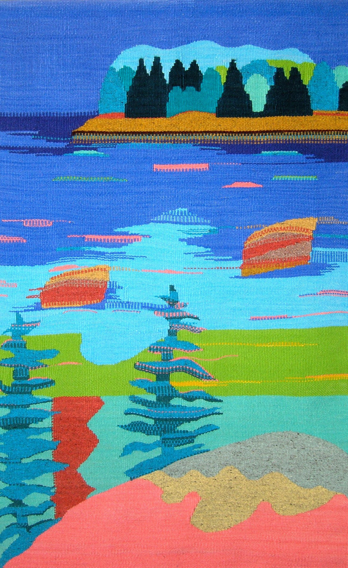 Meadow Cove Landing View, 42 in x 60 in