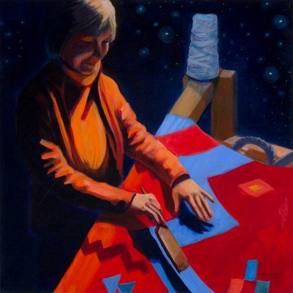 The Weaver by Barbara Fischer Eldred