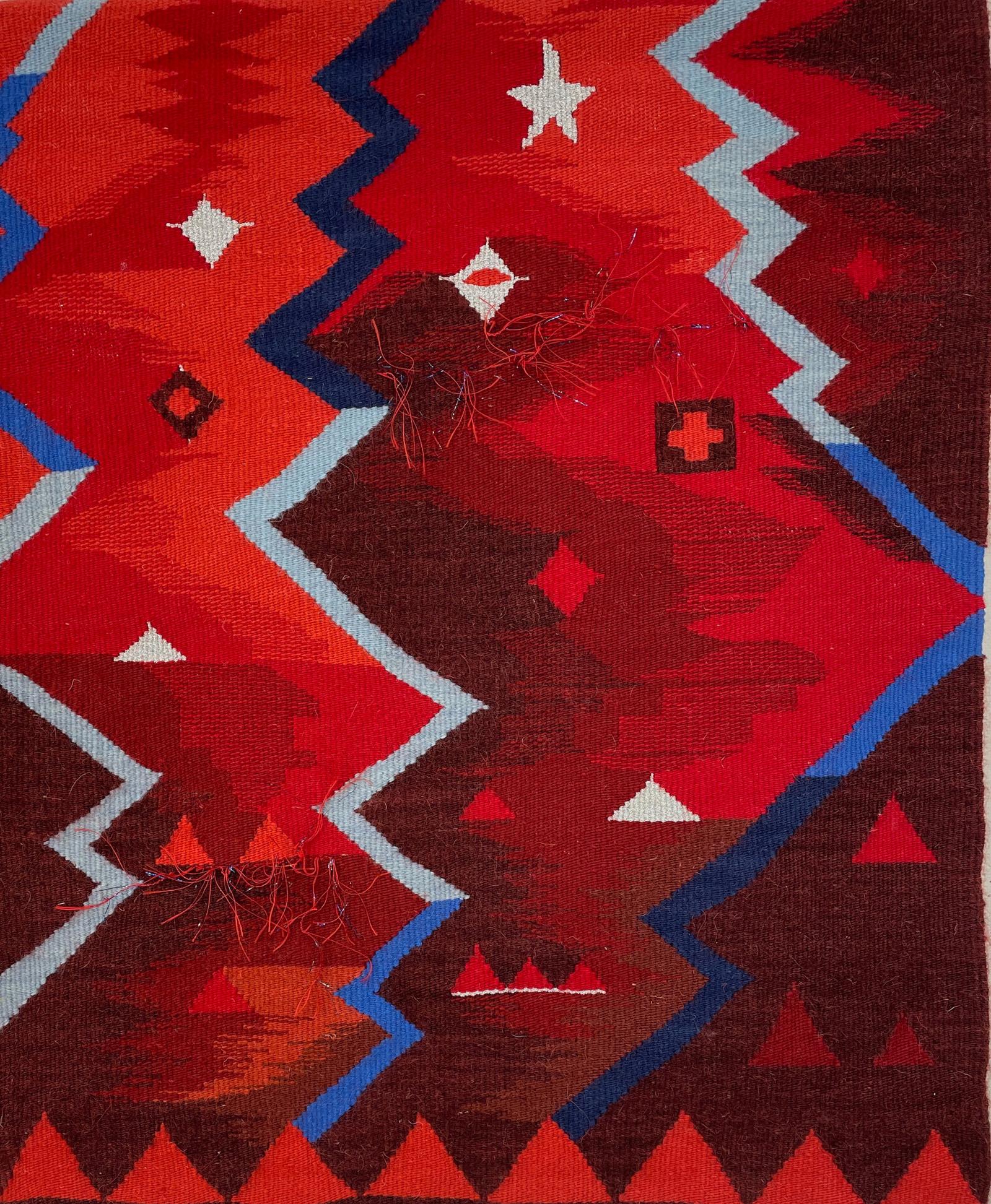 "Navajo Passages. (28""h x 24""w)"
